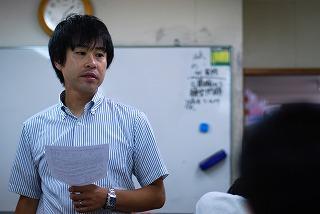 中1の夏期講習(桃井教室)