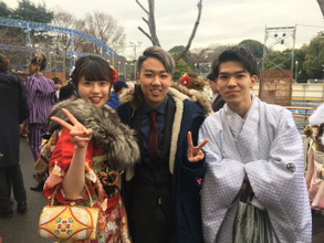 卒業生の門出(石神井台教室)